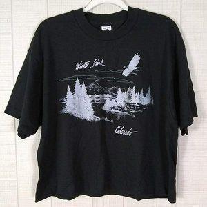 Vintage Single Stitch Cropped Colorado Tee T-Shirt